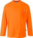 Portwest S579 Long Sleeve Pocket T-Shirt