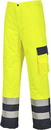 Portwest S686 Hi-Vis Lined Contrast Trousers