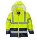 Portwest UH443 Hi-Vis Contrast Rain Jacket
