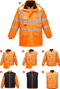 Portwest URT27 Hi-Vis 7in1 Jacket
