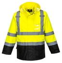 Portwest US366 Hi-Vis Contrast Rain Jacket