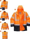 Portwest US768 5in1 Hi-Vis Executive Jacket
