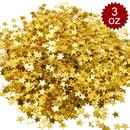 Aspire 3oz Glitter Star Table Confetti, 6000PCS Premium Metallic Birthday Party Wedding Decoration