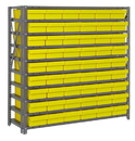 Quantum 1239-401 Open Shelving Systems With Super Tuff Euro Drawers, 54 QED401 -- 10 Shelves