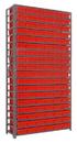 Quantum 1275-401 Euro Drawers Shelving System, 108 QED401 -- 19 Shelves