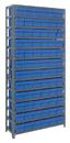 Quantum 1275-601 Euro Drawers Shelving System, 72 QED601