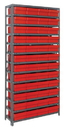 Quantum 1275-701 Euro Drawers Shelving System, 48 QED701