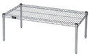 Quantum 183614PC Wire Shelf Platform Rack - Chrome, 18
