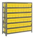 Quantum 1839-624 Shelving System with Super Tuff Drawers, 18 QED602, 27 QED604