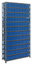 Quantum 1875-624 Euro Drawers Shelving System, 36 QED602, 54 QED604