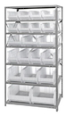 Quantum 2475-20-MIXCL Clear-View Heavy-Duty Steel Units With Hulk 24