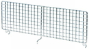 Quantum 4x15HBD Partition Hanging Basket Dividers - Chrome, 15