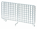 Quantum 4X9HBD Partition Hanging Basket Dividers - Chrome, 9