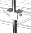 Quantum 84RT Wire Shelving Rods & Tabs, Three 84