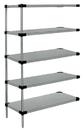 Quantum AD74-1460SG-5 Solid 5-Shelf Add-On Units, 14