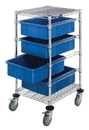 Quantum BC212434M1 Bin Carts (Outside Dimensions: 21