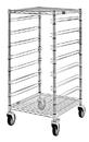Quantum BC212439M7 Clear-View Bin Cart Without Bins (7 Bin Levels), 24
