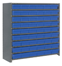 Quantum CL1239-401 Euro Drawer Shelving Closed Unit - Complete Package, 54 QED401 -- 10 Shelves