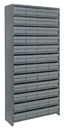 Quantum CL1275-701 Euro Drawer Shelving Closed Unit - Complete Package, 48 QED701
