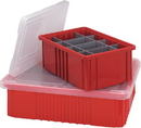 Quantum COV92000CL Dividable Grid Container Covers and Labels (Clear Cover for DG92000 Series)