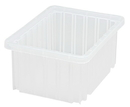 Quantum DG91050CL Clear-View Dividable Grid Container, 10-7/8