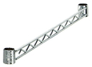 Quantum HB48S Hang Rails - Stainless Steel, One 48