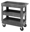 Quantum PC3518-33-3 Polymer Mobile Cart, 34-1/4