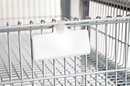 Quantum PS-LH3 Post Baskets - Chrome, Hanging Label Tag - 25 Pack
