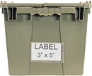 Quantum QDL-2115 Label for Attached Top Containers, 3