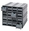 Quantum QIC-161 Interlocking Storage Cabinets (Outside Dimensions: 11 3/8