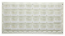 Quantum QLP-3619HC-220-32CL CLEAR-VIEW Oyster White Louvered Panel, 32 QUS220CL
