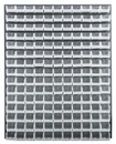Quantum QLP-4861-220-165CL CLEAR-VIEW Louvered Panel - Complete Package, 165 QUS220CL