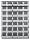 Quantum QLP-4861-240-35CL CLEAR-VIEW Louvered Panel-Complete Package, 35 QUS240CL