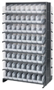 Quantum QPRD-201CL Clear-View Store-More Pick Rack Systems, 24