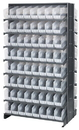 Quantum QPRD-203CL Clear-View Store-More Pick Rack Systems, 36