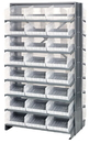 Quantum QPRD-209CL Clear-View Store-More Pick Rack Systems, 24