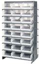 Quantum QPRD-210CL Clear-View Store-More Pick Rack Systems, 36