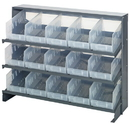 Quantum QPRHA-202CL Clear-View Store-More Pick Rack Systems, 12