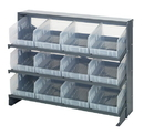 Quantum QPRHA-207CL Clear-View Store-More Pick Rack Systems, 12