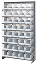Quantum QPRS-202CL Clear-View Store-More Pick Rack Systems, 12
