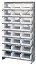 Quantum QPRS-209CL Clear-View Store-More Pick Rack Systems, 12