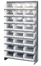 Quantum QPRS-210CL Clear-View Store-More Pick Rack Systems, 24