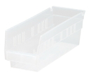 Quantum QSB101CL CLEAR-VIEW Economy Shelf Bin, 11-5/8