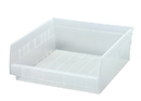Quantum QSB109CL Clear-View economy shelf bin, 11-5/8