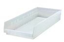 Quantum QSB116CL CLEAR-VIEW Economy shelf bin, 23-5/8