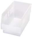 Quantum QSB202CL STORE-MORE 6'' Shelf Bin, 11-5/8