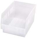 Quantum QSB207CL STORE-MORE 6'' Shelf Bin, 11-5/8