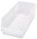 Quantum QSB208CL STORE-MORE 6'' Shelf Bin, 17-7/8