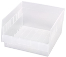 Quantum QSB209CL STORE-MORE 6'' Shelf Bin, 11-5/8