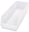 Quantum QSB214CL STORE-MORE 6'' Shelf Bin, 23-5/8